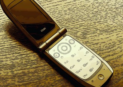 Tom's mobile phone.